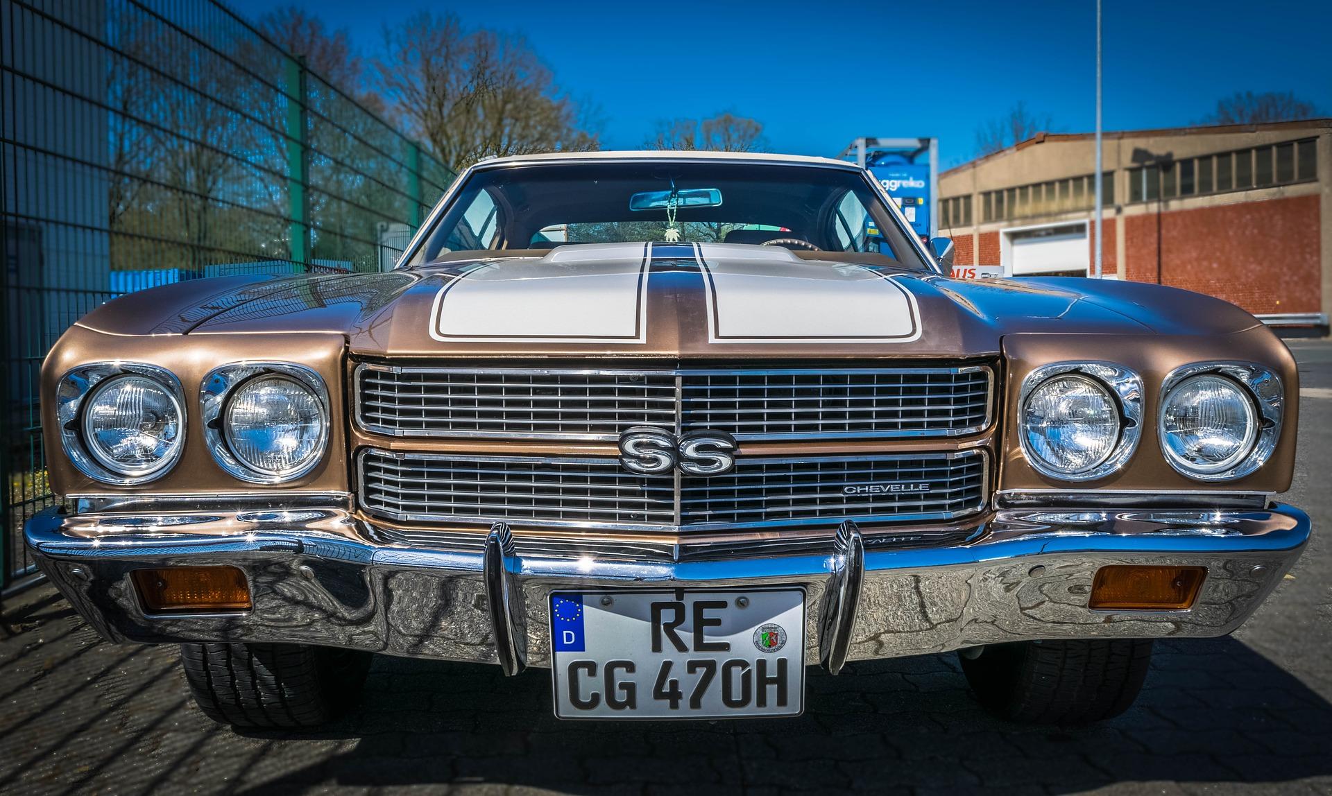 voiture vintage USA